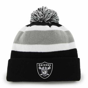 Oakland Raiders '47 Brand Breakaway Knit Hat - Click to enlarge