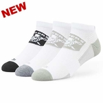 Oakland Raiders '47 Brand Brink Low Cut 3 Pack