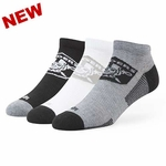 Oakland Raiders '47 Brand Brink Low Cut Tonal 3 Pack