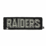 Oakland Raiders '47 Brand Ellie Headband