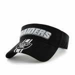 Oakland Raiders '47 Brand End zone Visor