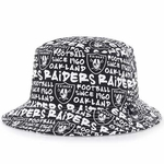 Oakland Raiders '47 Brand Fat Cap Bucket Hat