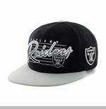 Oakland Raiders '47 Brand Fission Adjustable Snapback Cap