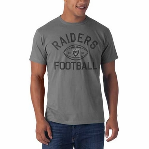 Oakland Raiders '47 Brand Flanker Tee - Click to enlarge