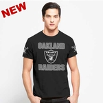 Oakland Raiders '47 Brand Frozen Rope Tee