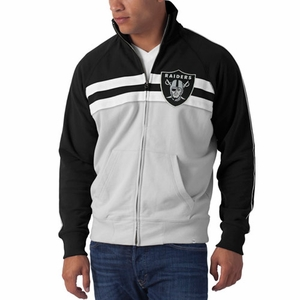 Oakland Raiders '47 Brand GameDay Track Jacket - Click to enlarge