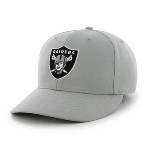 Oakland Raiders '47 Brand Gray MVP Cap - Click to enlarge