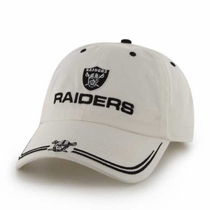 Oakland Raiders '47 Brand Gwash Sideliner Cap - Click to enlarge