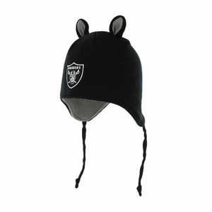 Oakland Raiders '47 Brand Infant Little Monster Hat - Click to enlarge