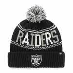 Oakland Raiders '47 Brand Jumble Knit Hat