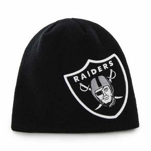 Oakland Raiders '47 Brand Mammoth Beanie - Click to enlarge