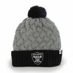 Oakland Raiders '47 Brand Matterhorn Knit II - Click to enlarge
