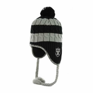 Oakland Raiders '47 Brand Sherpette Knit Hat - Click to enlarge