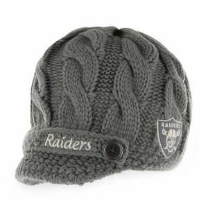 Oakland Raiders '47 Brand Skybox Knit Hat - Click to enlarge