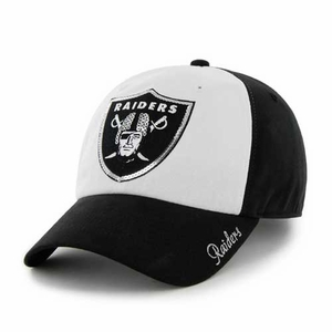 Oakland Raiders '47 Brand  Sparkle Cap - Click to enlarge