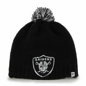 Oakland Raiders '47 Brand Sparkle Knit - Click to enlarge