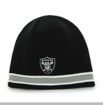 Oakland Raiders '47 Brand Super Pipe Knit Hat