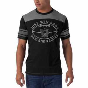 Oakland Raiders '47 Brand Top Gun II Tee - Click to enlarge