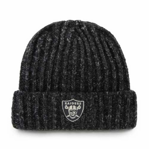 Oakland Raiders '47 Brand West End Knit Hat - Click to enlarge