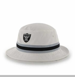 Oakland Raiders '47 Brand White Bucket Hat