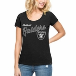 Oakland Raiders '47 Brand Women's Crosstown Tee