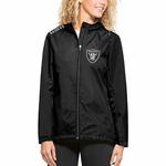 Oakland Raiders '47 Brand Women's React Jacket