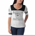 Oakland Raiders '47 Brand Womens Debut Tee