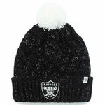 Oakland Raiders '47 Brand Womens Fiona Cuff Knit
