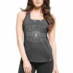 Oakland Raiders '47 Brand Womens Point Tank
