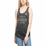 Oakland Raiders '47 Brand Womens Splash Tank