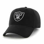 Oakland Raiders '47 Brand Youth Black Basic Logo Cap