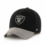 Oakland Raiders '47 Brand Youth Short Stack Cap