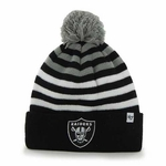 Oakland Raiders '47 Brand Youth Yipes Cuff Knit