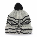 Oakland Raiders '47 Brands Brookfield Cuff Knit