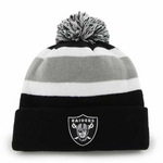 Oakland Raiders '47 Brands Pom Away Knit
