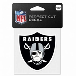 Oakland Raiders 4x4 Full Color Decal