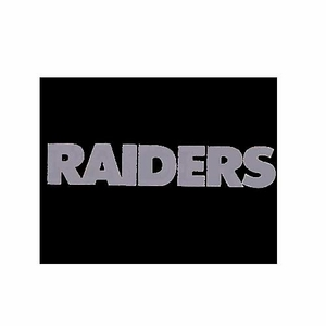 Oakland Raiders 5 x 6 Window Graphic - Click to enlarge