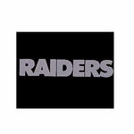 Oakland Raiders 5 x 6 Window Graphic