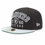 Oakland Raiders 59Fifty Word Knock Fitted Cap