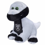 "Oakland Raiders 8"" Brontosauraus Plush"