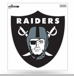 Oakland Raiders 8 Inch Shield Logo Vinyl Decal