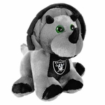"Oakland Raiders 8"" Triceratops Plush"