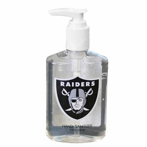 Oakland Raiders 8oz. Hand Sanitizer - Click to enlarge