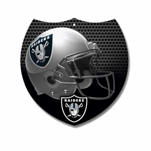 Oakland Raiders 8x8 Interstate Sign - Click to enlarge