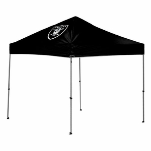 Oakland Raiders 9' x 9' Straight Leg Canopy - Click to enlarge