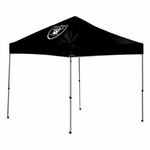 Oakland Raiders 9' x 9' Straight Leg Canopy