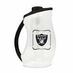 Oakland Raiders 93oz Acrylic Infuser Pitcher