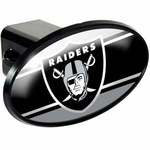 Raiders ABS Plastic Oval Hitch Cover