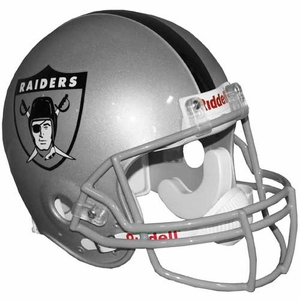 Oakland Raiders AFL Logo Authentic Helmet - Click to enlarge