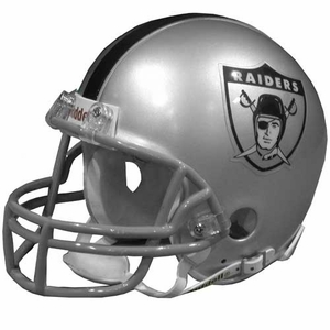 Oakland Raiders AFL Logo Mini Helmet - Click to enlarge